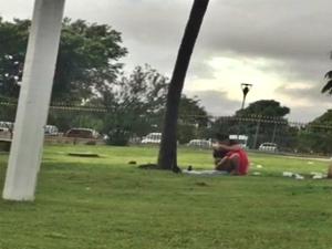 Flagra De Sexo Parque Ibirapuera SP Depois Do Show Do Wesley Safadão