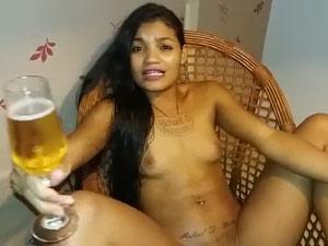 Tigresa Vip pelada chamando Eduardo Costa pra foder sua buceta arrombada