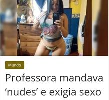 Professora Colombiana Envia Nudes e Exige Sexo Em Troca De Notas