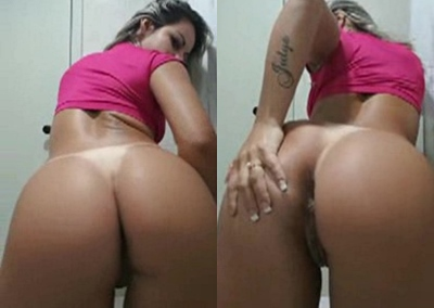 Melissa Pitanga atriz porno gostosa abrindo sua bunda tesuda