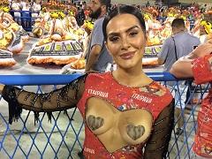 Cléo Pires Atriz Da Globo Gostosa Mostrando Os Peitos No Carnaval 2018