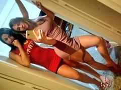 Musas Do Porno Brasileiro Fernandinha Fernandez e Danni Mancinni Se Pegando Nuas No Motel