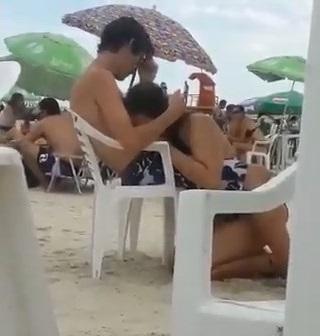 Flagra Boquete Amador De namorada Novinha Na Praia