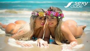 Revista Sexy Fevereiro 2018 – Elga Shitara e Jessica Cristy nuas