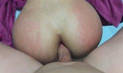 Esposa novinha dá o cuzinho com muita facilidade e tesão