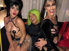 Putaria com famosos na festa de Halloween da Anitta