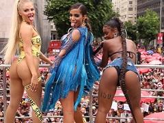 Bundas famosas no carnaval Anitta, Luísa Sonza e Mc Rebecca rebolando gostoso